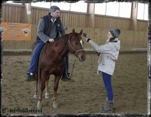 Pferdeflüsterei.de befragt Bernd Hackl
