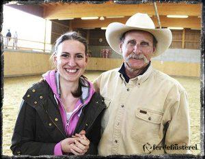 Mark Rashid und Petra