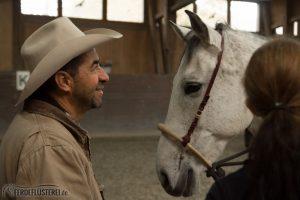 Alfonso Aguilar mit Bosal