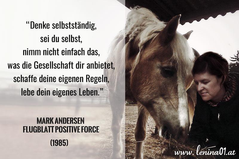 Zitat Pferde