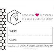 Pferdeflüsterei-Shop Gutschein PF-GSP-P 2 Digital