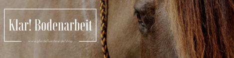 Zubehör für die Bodenarbeit mit dem Pferd