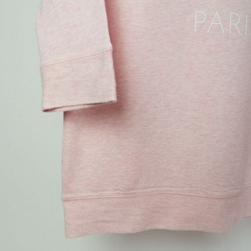 NeoNow Sweater NN-SATN5-PWS Cream Heather Pink Detail