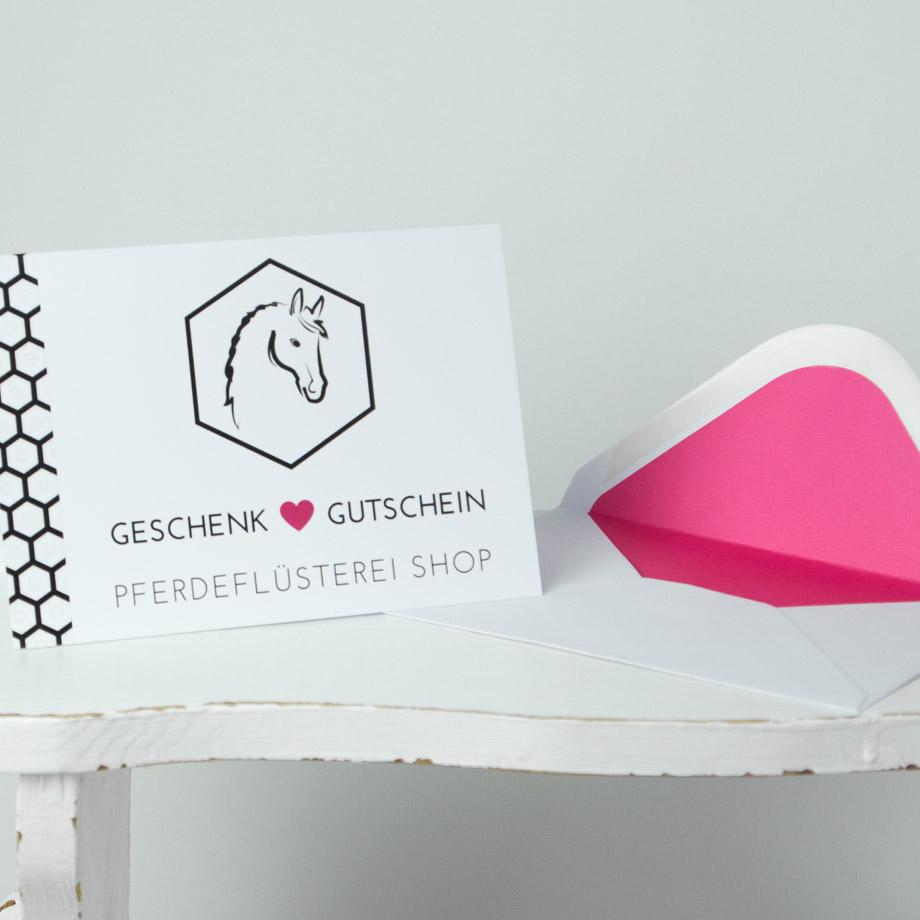Pferdeflüsterei-Shop Gutschein PF-GSP-P 2
