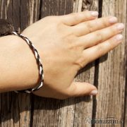 Weltfreund Armband twisted weiter weg WF-ABF-SBP/19