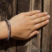 Weltfreund Armband Pure Vorne – WF-ABE-SBP/19