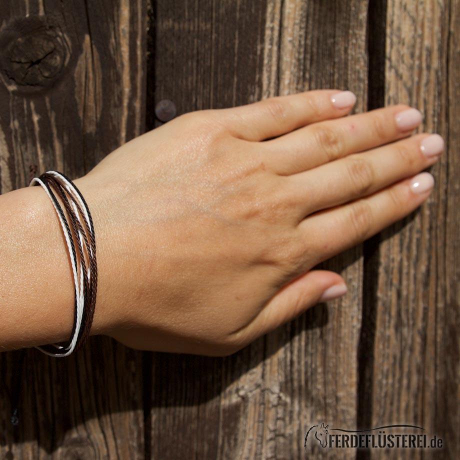 Weltfreund Armband Pure Vorne - WF-ABE-SBP/19