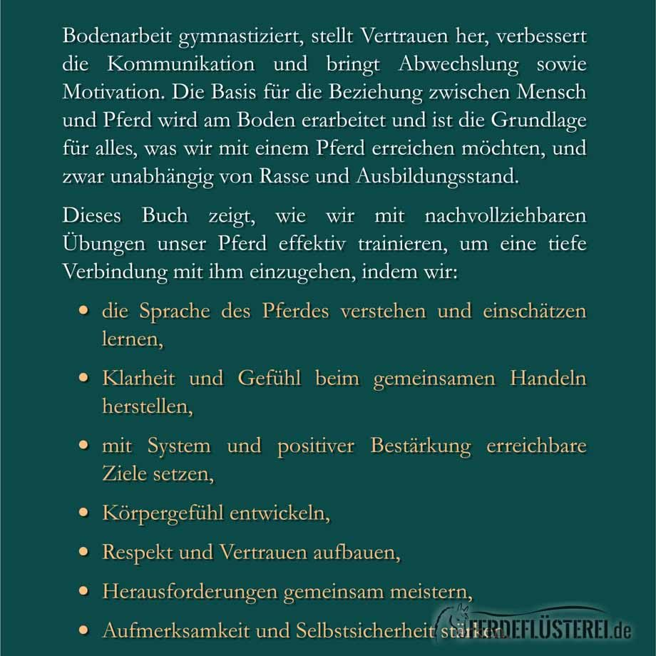 Übungsbuch Bodenarbeit von Susanne Kreuer - Rückseite - PV-BUBA-X/2