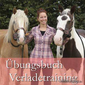 Übungsbuch Verladetraining - Sandra Schneider Vox Pferdeprofis - cover PV-BUVT-X/2