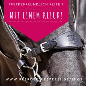Produkte für pferdefreundliches Reiten