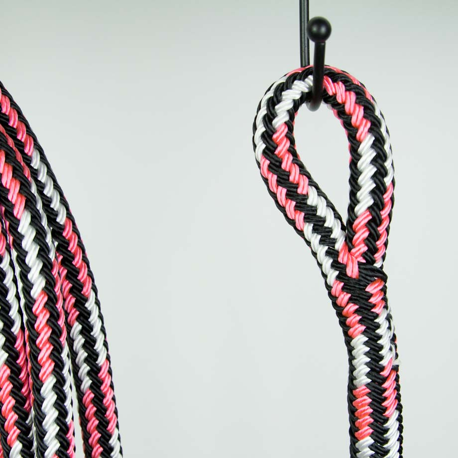 Brockamp Lead Rope Schwarz Weiss Pink BA-LRO mittel