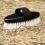 HA-KB-BK/5 - Kopfbürste schwarz von der Seite