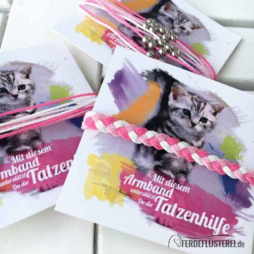 Katzen - Charity - Armbänder
