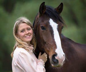 Hero Merkel mit Pferd