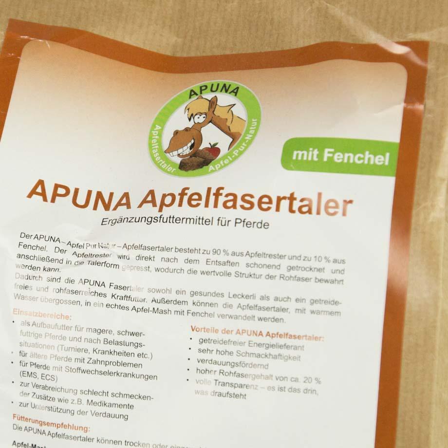 Fenchel (Apuna Apfelfasertaler)