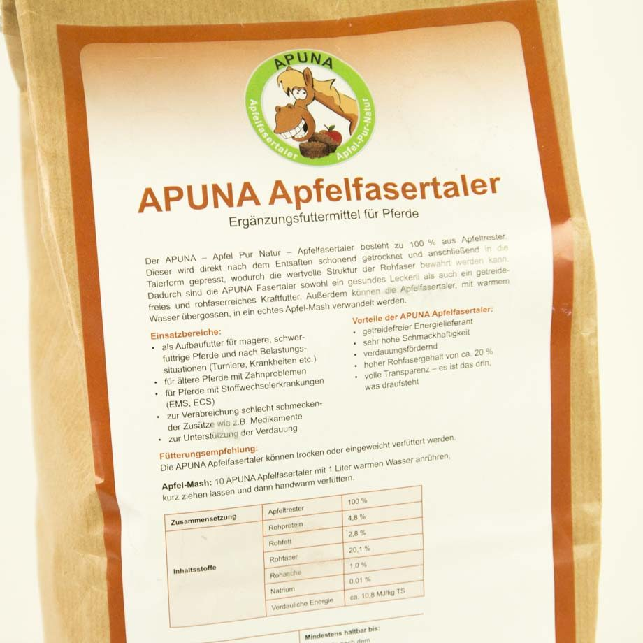 Apura Apfeltaler Detail AP-AT-1