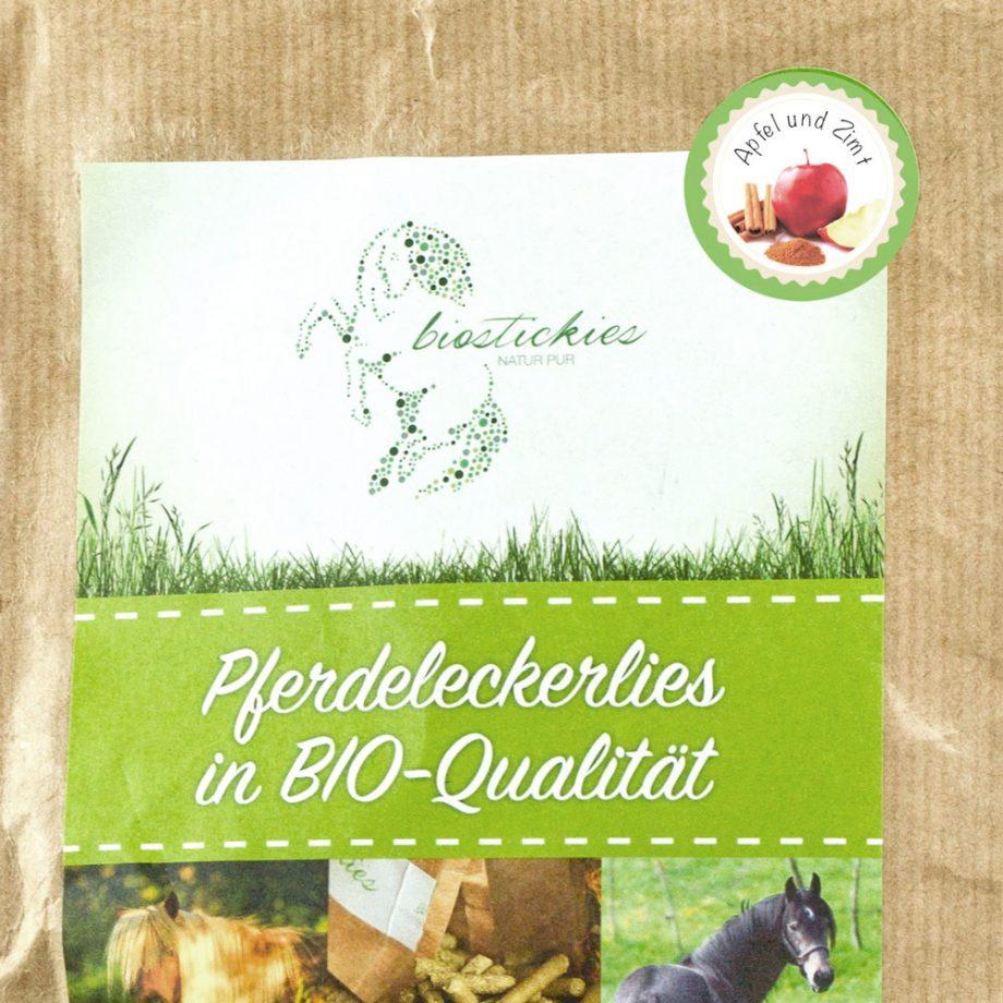 Leckerli Pferd Apfel Zimt Biostickies