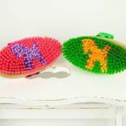 LS-KK-NG - Leistner Kinderkardätsche Neongrün und Neonpink unten