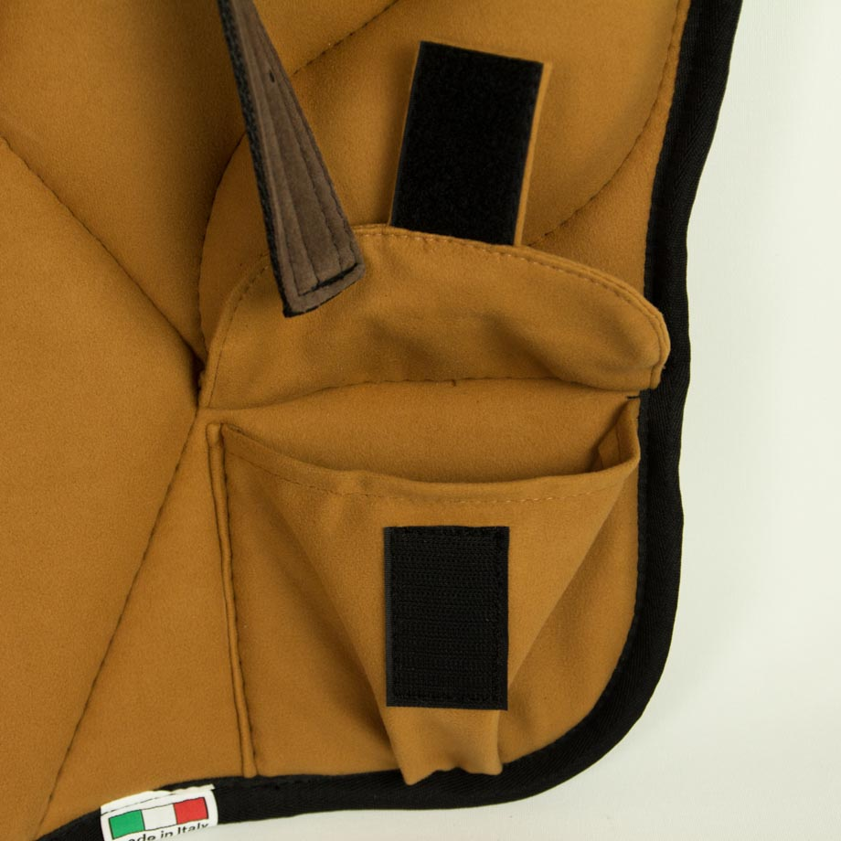 BA-BPWPU-BR Brockamp Pony Reitpad Braun - Tasche auf