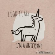 Neonow Unicorn Girls Shirt NAH logo