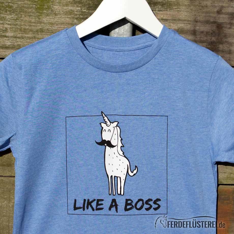 Neonow - Like a Boss Jungs Shirt nah