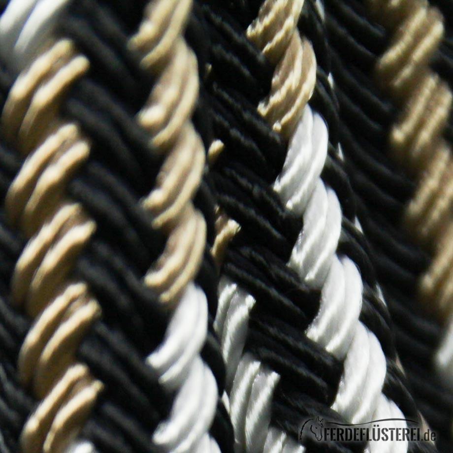 Schwarz-Silber-Beige