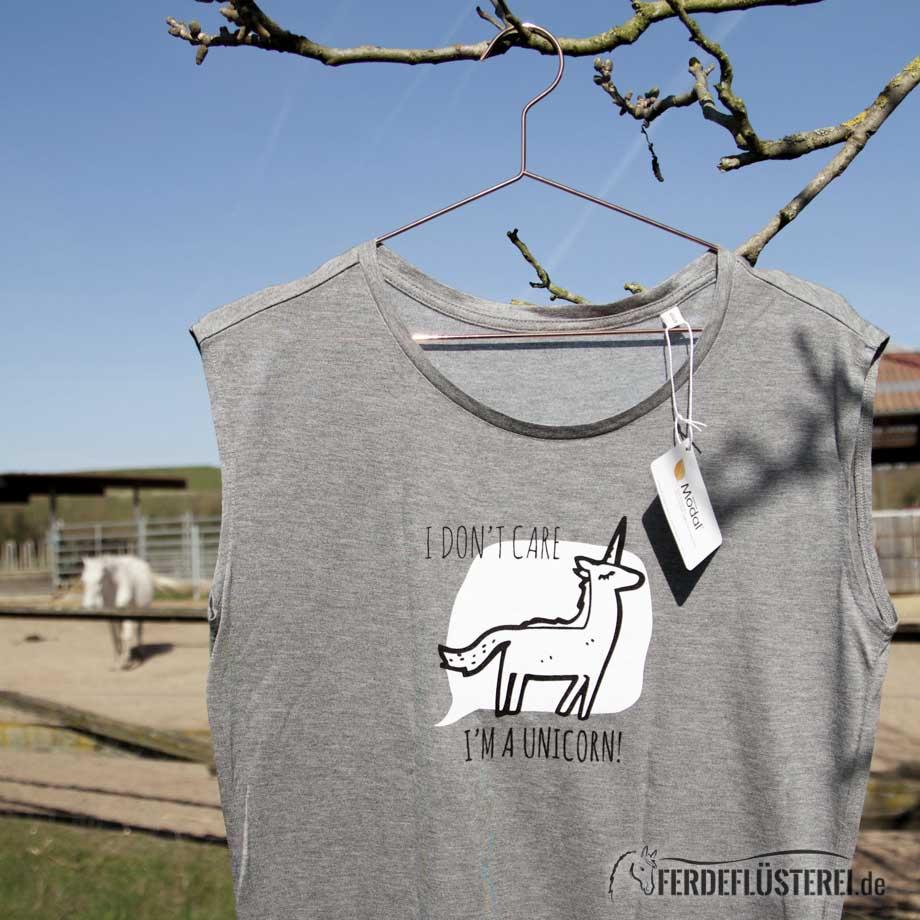 Neonow Einhorn Shirt Modal Fashion obere Hälfte