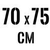 70 x 75 cm