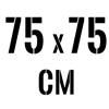 75 x 75 cm