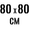 80 x 80 cm