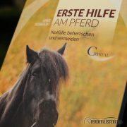 Crystal Verlag Buch Wissen Pferde Erste Hilfe Pferd Cover nah