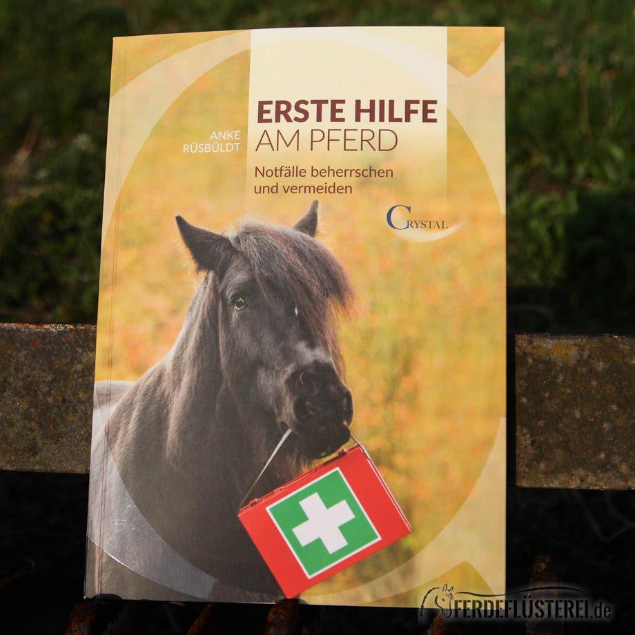 Crystal Verlag Buch Wissen Pferde Erste Hilfe Pferd Cover