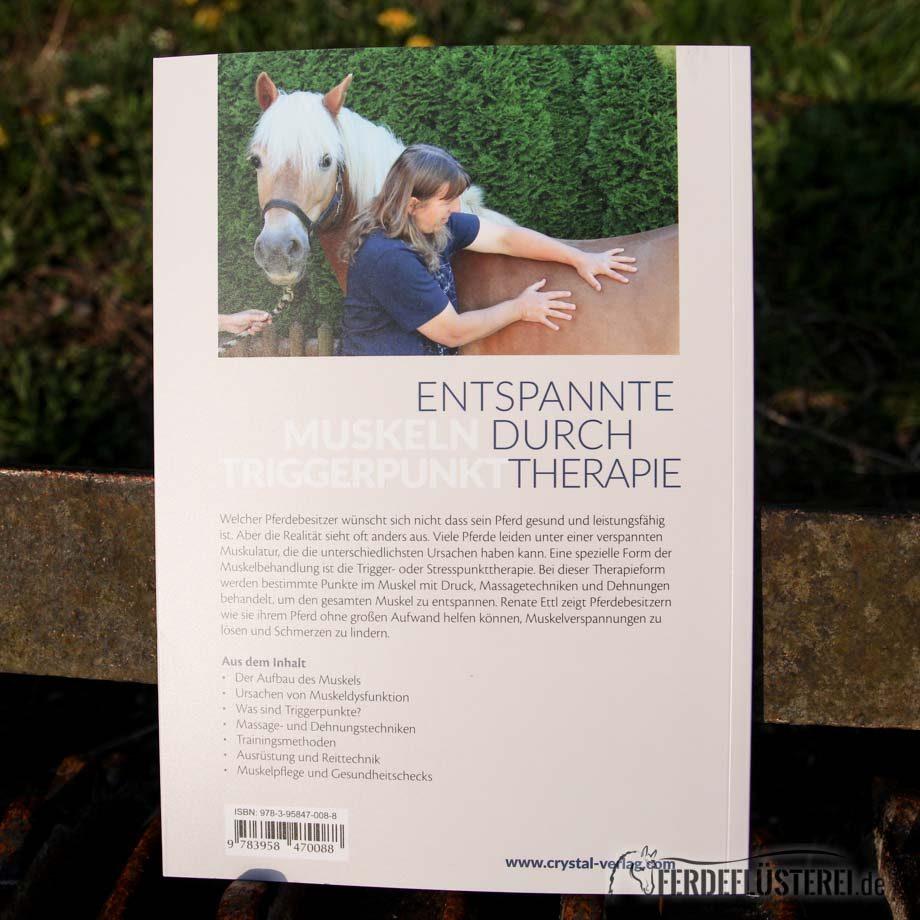 Crystal Verlag Buch Wissen Pferde Muskelprobleme bei Pferden lösen Rückseite