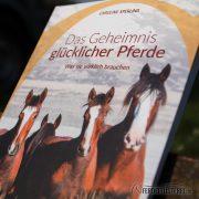 Crystal Verlag Buch Wissen Pferde Geheimnis glücklicher Pferde Cover nah