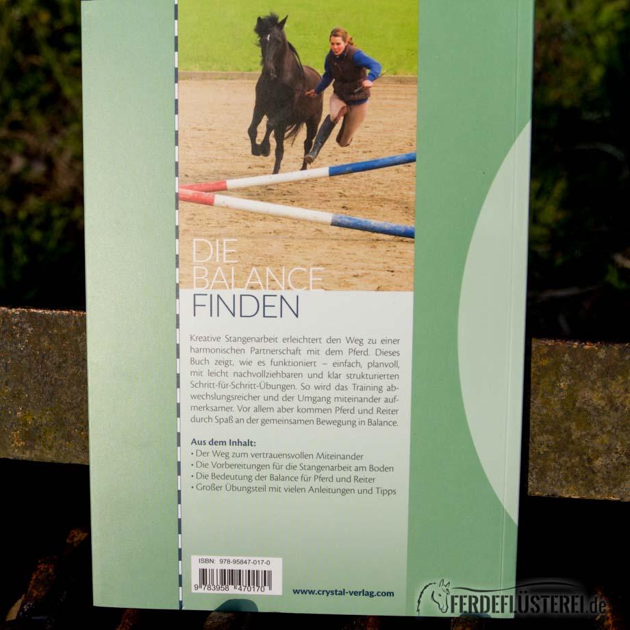 Crystal Verlag Buch Wissen Pferde kreative Stangenarbeit Rückseite