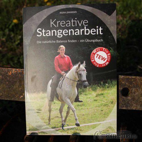 Crystal Verlag Buch Wissen Pferde kreative Stangenarbeit Cover