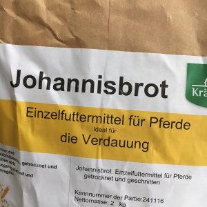 Johannisbrot Pfer magen Verpackung Kräuterwiese