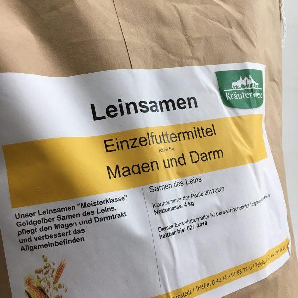 Leinsamen Kräuterwiese Gelb Pferdefutter NAH