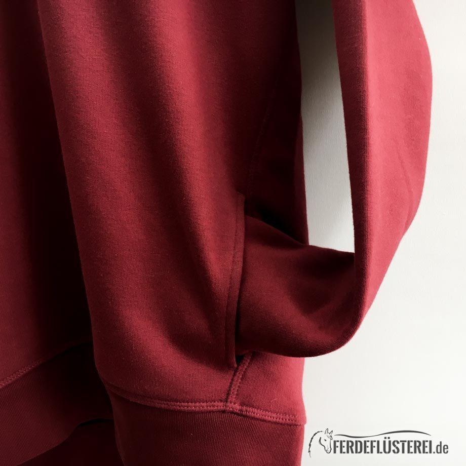 Neonow Fair Fashion  Hoodie Team Bordeaux Tasche