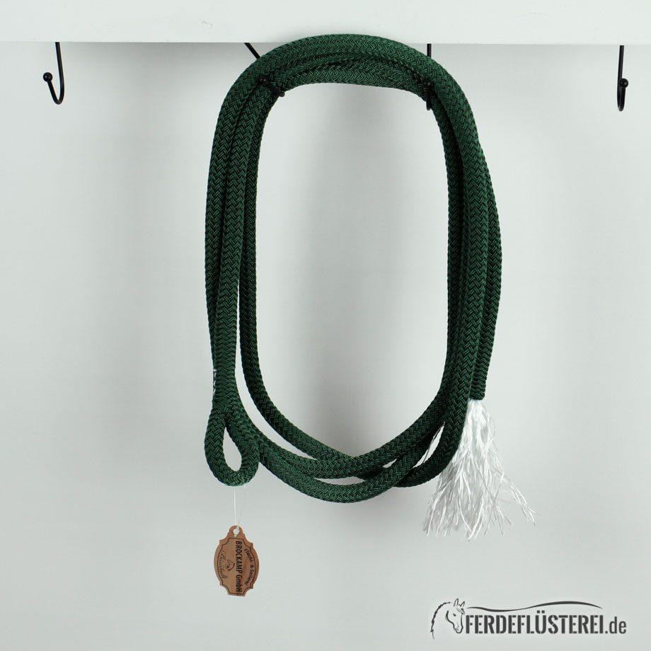 Brockamp Rope 3.70 Öse und Puschel Tannengrün