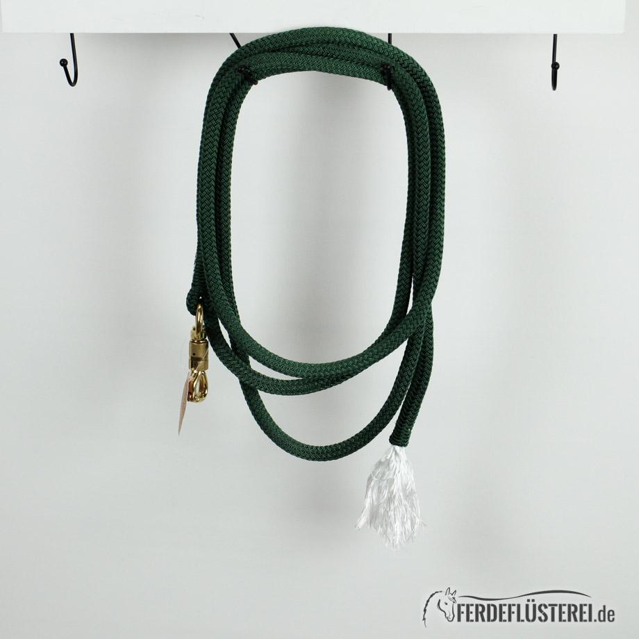 Brockamp Rope 3.70 Karabiner und Puschel Tannengrün