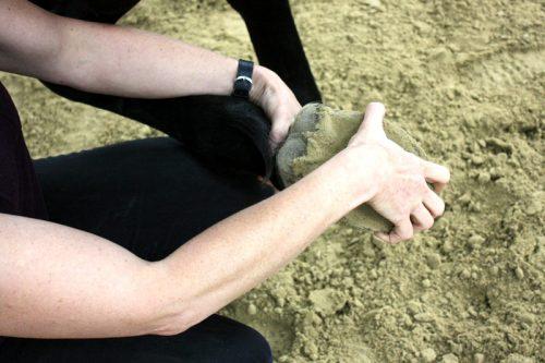 Shiatsu Pferd Massage Huf