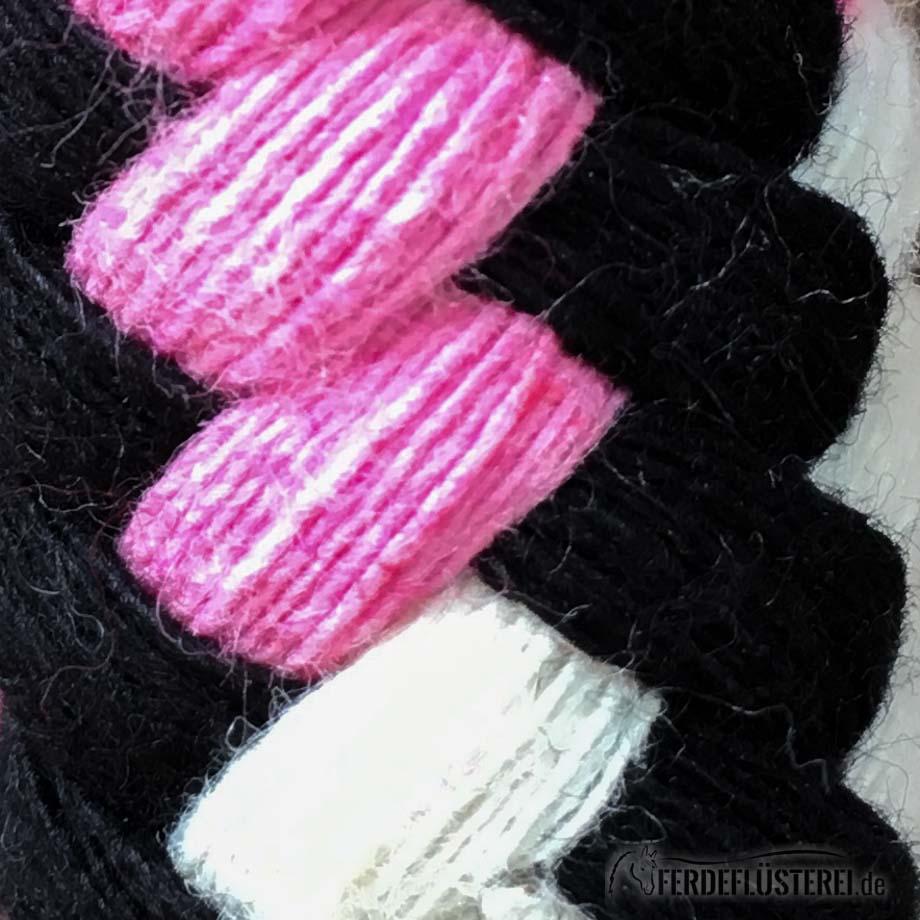 Schwarz-Weiß-Pink