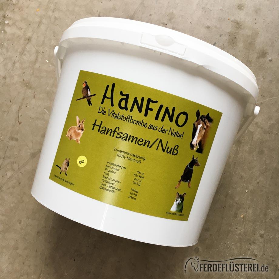 Hanfino Hanfprodukte Pferdehanf Hanfsamen ganz