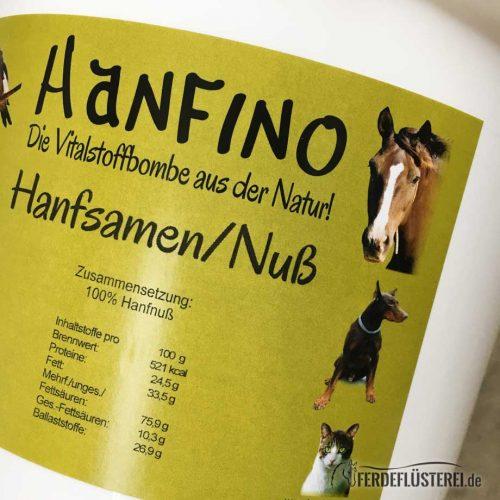 Hanfino Hanfprodukte Pferdehanf Hanfsamen