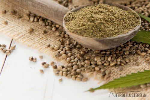 Hanf Samen und Öl