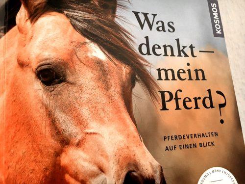 Buch Cover Was denkt mein Pferd NAH