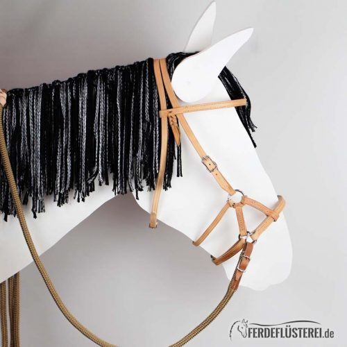 Sidepull Horsegear Leder Gebisslos Reiten