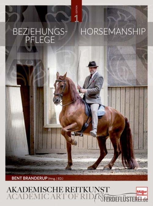 Beziehungspflege Horsemanship Buch Bent Branderup Cover Müller Rüschlikon