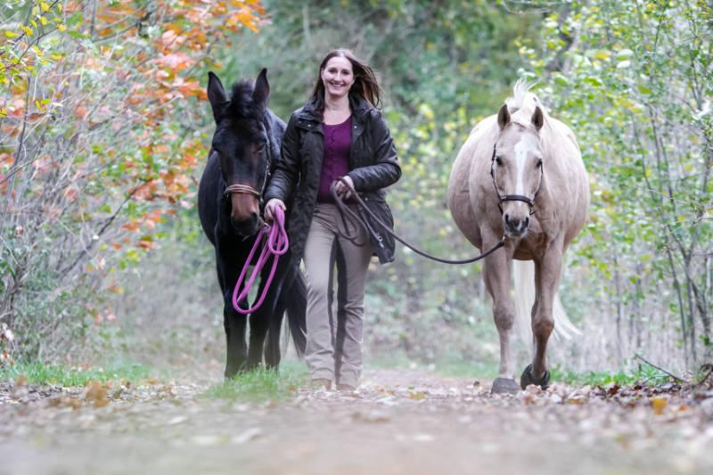 Zwei Übungen für mehr Ruhe und Gelassenheit mit dem Pferd 1